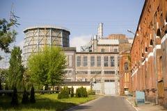 старая электростанция Стоковая Фотография RF