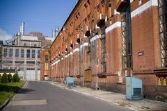 старая электростанция Стоковая Фотография