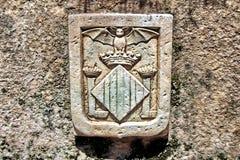 Старая эмблема стоковое изображение rf
