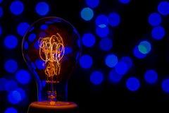 Старая электрическая лампа Стоковые Изображения RF