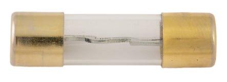 Старая электрическая лампочка для фар автомобиля Стоковое Фото