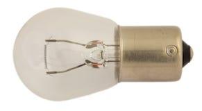 Старая электрическая лампочка для фар автомобиля Стоковая Фотография