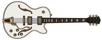 Старая электрическая гитара Стоковые Изображения RF