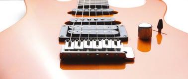 Старая электрическая гитара Стоковая Фотография RF