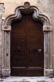 старая двери итальянская Стоковые Фото