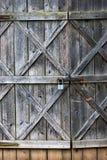 Старая дверь амбара Стоковое Изображение