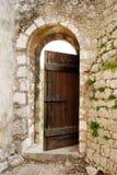 Старая дверь Стоковое Изображение