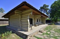 Старая деревенская дом Стоковые Фото