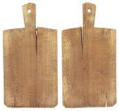 Старая деревянная разделочная доска Стоковое фото RF