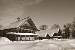 Старая деревянная дом Стоковая Фотография
