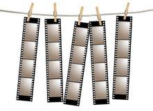старая filmstrips пленки отрицательная бесплатная иллюстрация