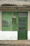 Старая grunged дверь Стоковое фото RF