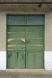 Старая grunged дверь Стоковая Фотография RF