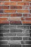Старая grungy текстура brickwall Стоковое фото RF