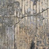 Старая grungy часть бетонной стены Стоковое Фото