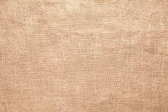 Старая linen предпосылка материала текстуры мешковины Стоковое фото RF