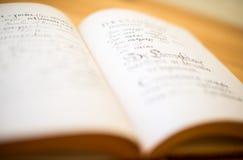 Старая Slavonic грамматика бесплатная иллюстрация