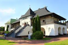 Старая Slavonic деревянная крепость в Novhorod-Siverskii Стоковое Фото