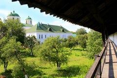 Старая Slavonic деревянная крепость в Novhorod-Siverskii Стоковая Фотография RF