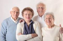 Старики и женщины стоковое фото rf