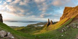 Старик Storr, остров Skye, Шотландии стоковое изображение rf