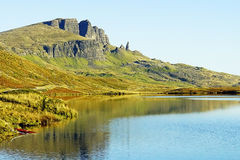 Старик Storr, остров Skye, Шотландии Стоковые Фото