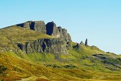 Старик Storr, остров Skye, Шотландии Стоковая Фотография RF