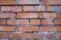 Старинная кирпичная стена Стоковые Изображения
