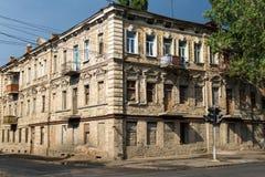 Старинное здание кирпича Стоковая Фотография RF