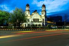 Старинное здание Semarang Lawang Sewu, Индонезия Стоковые Фотографии RF