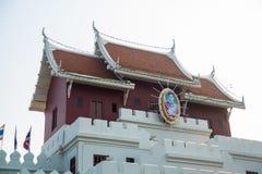 Старинные ворота Chumphon город Nakhon Ratchasima Таиланд стоковое изображение
