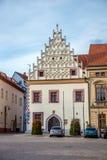 Старинные здания в bor ¡ TÃ Стоковая Фотография