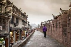 Старинные улицы Китая Стоковая Фотография RF