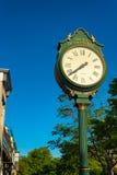 Старинные часы деревни Стоковое Изображение