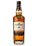 18 старого одиночного лет glenlivet шотландского вискиа солода Стоковая Фотография