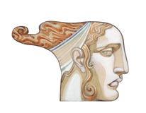 стародедовская богина Стоковое Изображение RF