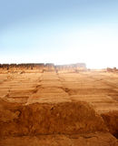 стародедовская высокая стена стоковые фото