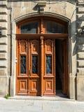 стародедовская дверь деревянная Стоковые Фотографии RF