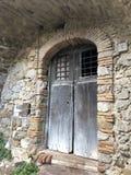 стародедовская дверь стоковое фото