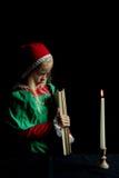 стародедовская девушка Стоковое Фото