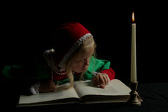 стародедовская девушка Стоковые Фото