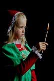 стародедовская девушка Стоковое Изображение