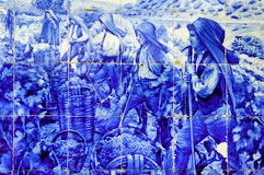 стародедовская долина Португалии douro керамики стоковое изображение rf