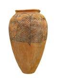 Стародедовская египетская изолированная гончарня Стоковые Фото