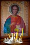 стародедовская икона церков Стоковое фото RF