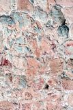 стародедовская каменная стена Masonry старых красных камней и кирпичей Красивейшая предпосылка стоковые фотографии rf