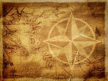 стародедовская карта предпосылки Стоковое Фото