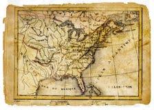 Стародедовская карта стоковая фотография