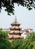 стародедовская китайская башня стоковые изображения rf