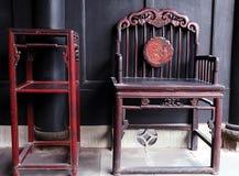 стародедовская китайская мебель Стоковая Фотография RF